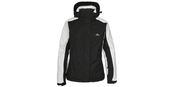 Dámska čierno-biela funkčná bunda Trespass