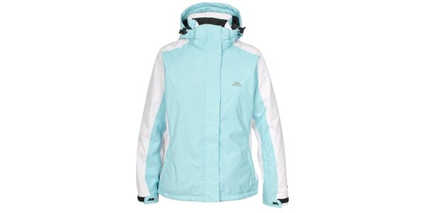 Dámska modro-biela funkčná bunda Trespass