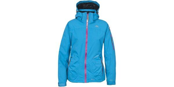 Dámska modrá lyžiarska bunda Trespass