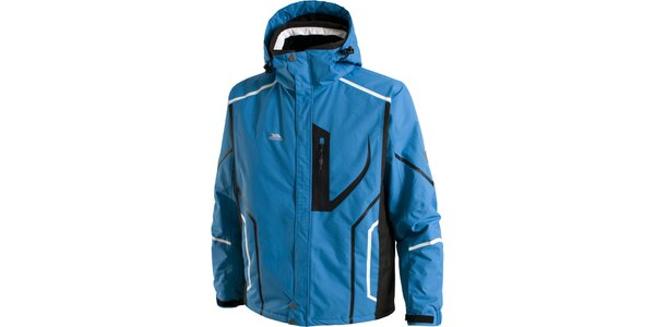 Pánska modrá lyžiarska bunda Trespass