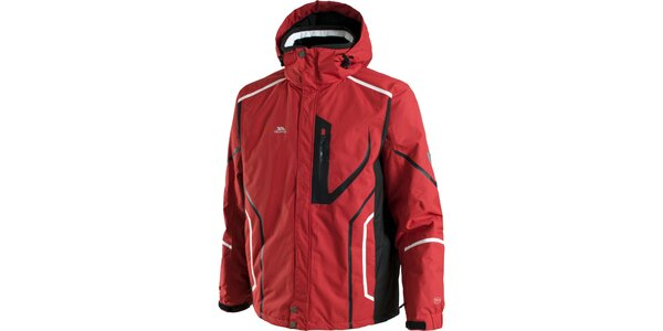 Pánska červená lyžiarska bunda Trespass