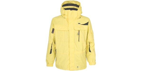 Pánska žltá lyžiarska bunda Trespass