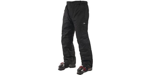 Pánske čierne lyžiarske nohavice Trespass