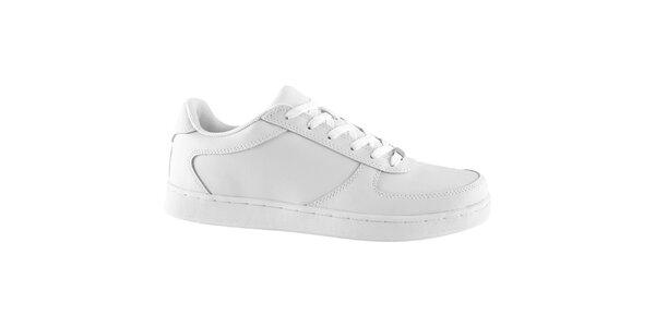 Pánske bielo-fialové tenisky Urban Classics