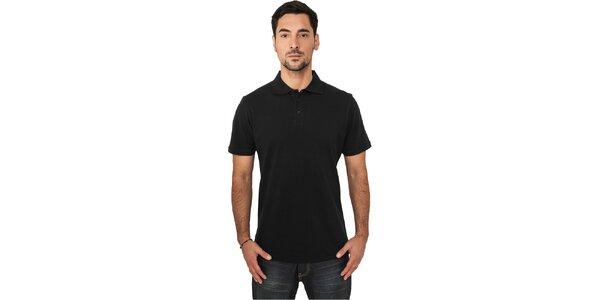 Pánske čierne polo tričko Urban Classics