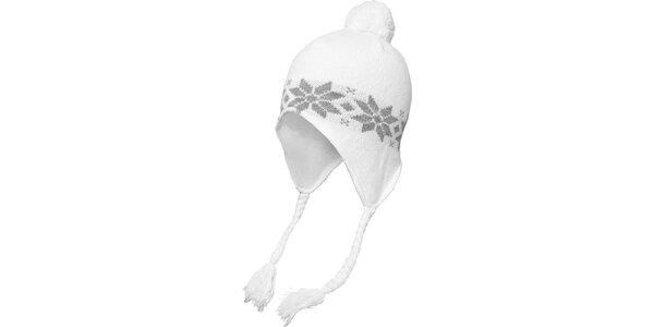 Bielo-šedá čiapka s nórskym vzorom Urban Classics