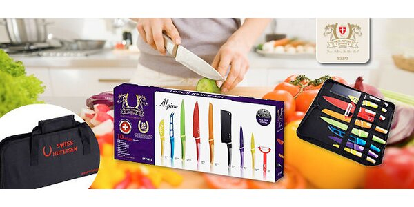 Sada kuchynských nožov značky Swiss Hufeisen
