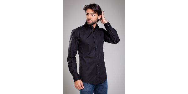 Pánska čierna košela Dolce & Gabbana