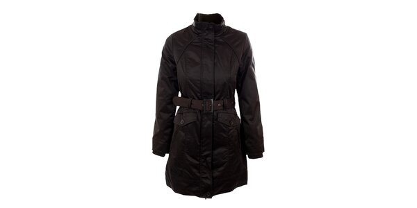 Dámsky hnedý kabát Company&Co