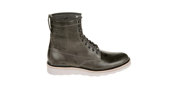 Pánske tmavo hnedé boty G-Star