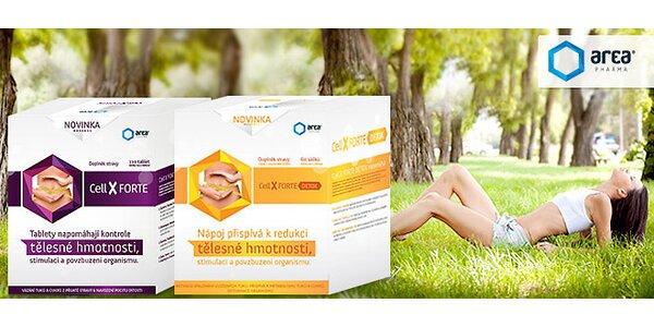 Cell X Forte na chudnutie, formovanie postavy a prečistenie tela