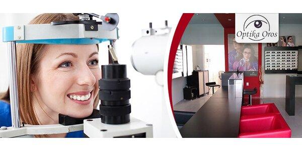 Očné vyšetrenie a aplikácia šošoviek