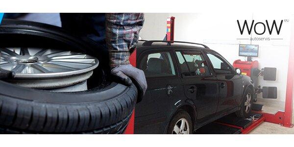 Prezutie pneumatík a 3D geometria
