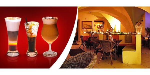 0,99 eur za nápoj podľa vlastného výberu v Café Mambo