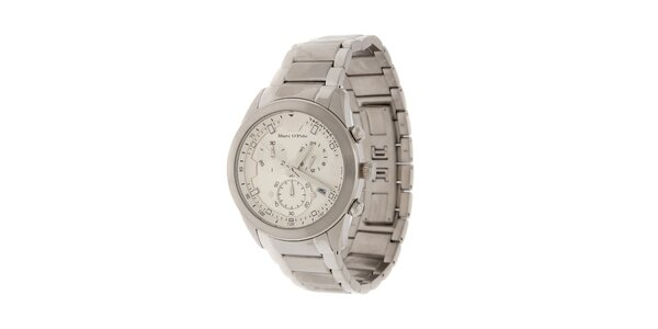 Pánske náramkové hodinky Marc O´Polo s chronografom a tachometrom