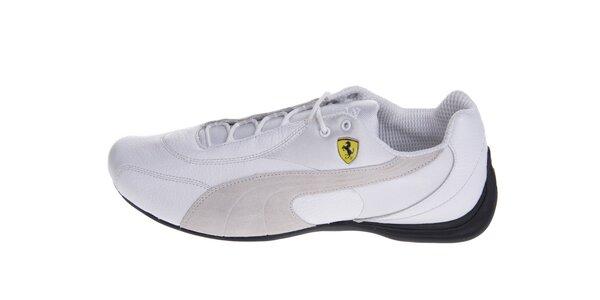 Pánske biele tenisky Puma Ferrari
