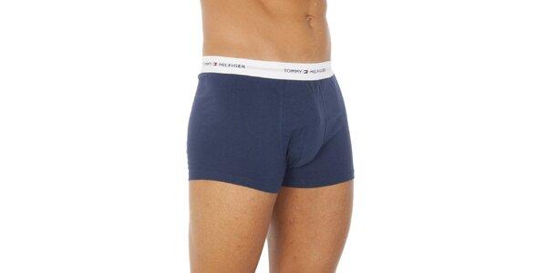 Pánske modré boxerky Tommy Hilfiger