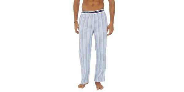 Pánske pruhované pyžamové nohavice Tommy Hilfiger