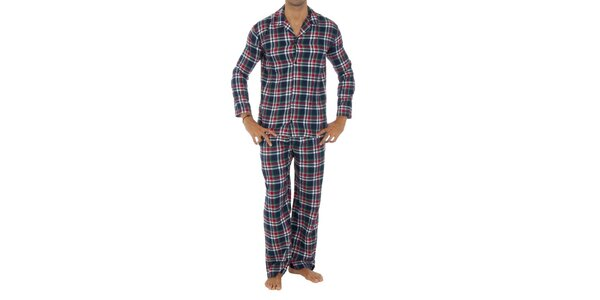 Pánske kockované pyžamo Tommy Hilfiger