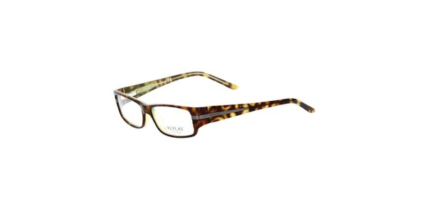 Dámske žihané okuliare Replay