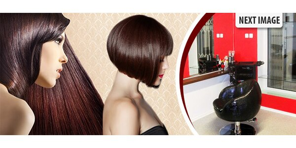 Úprava vlasov v kaderníctve Nextimage