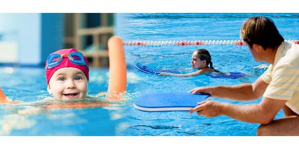 60 eur za kurz plávania pre deti od 3-10 rokov