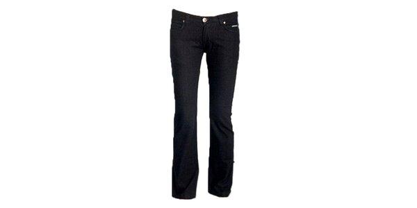 Dámske čierne boot-cut džínsy Ruby London