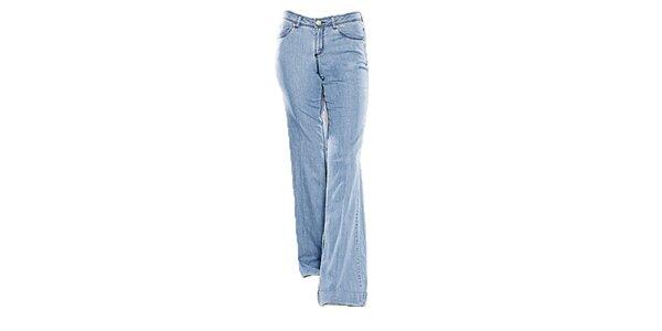 Dámske svetlo modré zvonové džínsy Ruby Blue