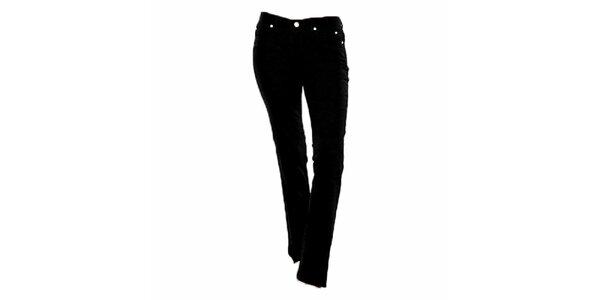 Dámske čierne úzke džínsy Ruby London