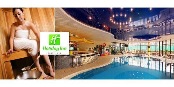 6,90 eur za celodenný vstup do wellness centra hotela Holiday Inn