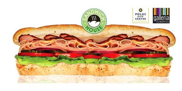 Lahodný XXL sendvič