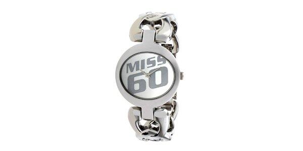 Dámske náramkové hodinky Miss Sixty z ocele