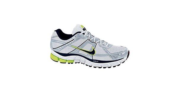Pánske šedo-biele bežecké tenisky Nike