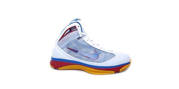 Pánske modro-červeno-biele členkové tenisky Nike