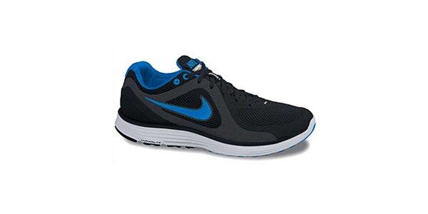 Pánske čierno-modré odľahčené tenisky Nike