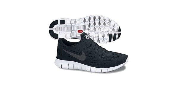 Dámske čierne bežecké topánky Nike