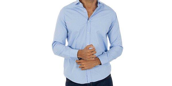 Pánska svetlo modrá košeľa Lotto