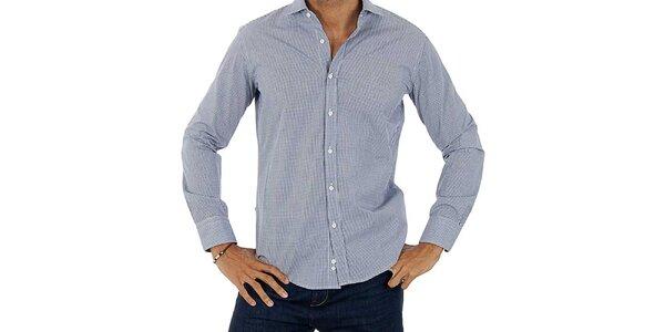 Pánska svetlo modro-biela košeľa Lotto