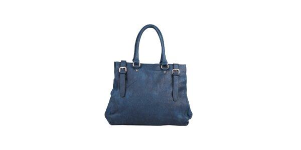 Dámska tmavo modrá kabelka s remienkami Dudlin