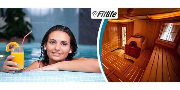 Wellness vírivka a sauny na dve hodiny