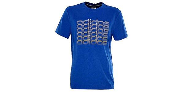 Pánske modré tričko Adidas