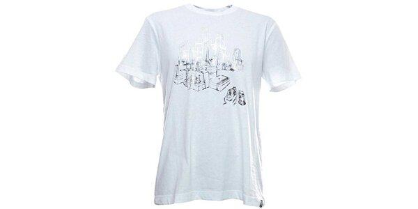 Pánske biele tričko Adidas