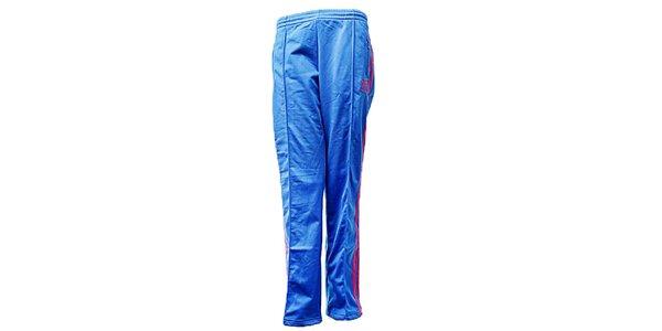 Dámske modré športové nohavice Adidas