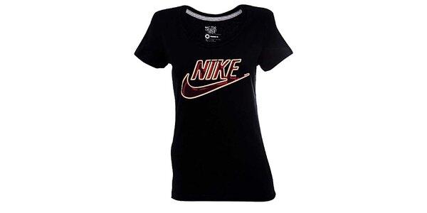 Dámske čierne tričko Nike