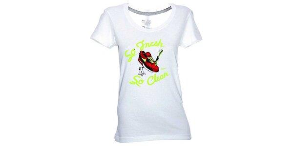 Dámske biele tričko Nike