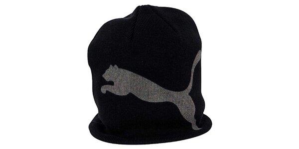 Dámska čierno-šedá čiapka Puma