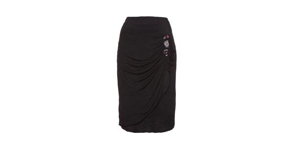 Dámska čierna púzdrová sukňa Uttam Boutique