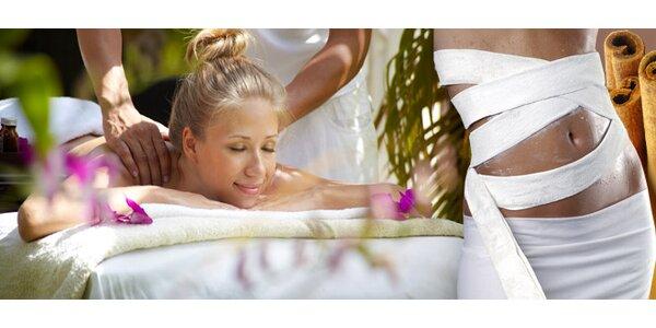 8,90 eur za relaxačnú masáž a škoricový zábal so zľavou 50%