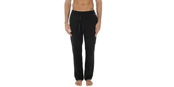 Pánske čierne pyžamové nohavice Ralph Lauren
