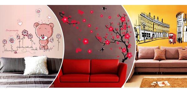 Dizajnové nálepky na stenu